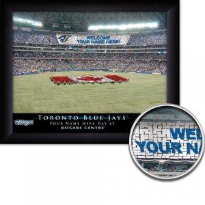 Toronto Blue Jays Stadium Print With Your Name