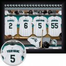 Florida Marlins Framed Custom Jersey Print With Your Name