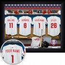 Philadelphia Phillies Framed Custom Jersey Print With Your Name