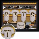 Pittsburgh Pirates Framed Custom Jersey Print With Your Name