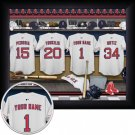 Boston Red Sox Framed Custom Jersey Print With Your Name