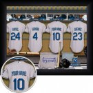 Kansas City Royals Framed Custom Jersey Print With Your Name