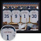 Detroit Tigers Framed Custom Jersey Print With Your Name