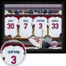 Minnesota Twins Framed Custom Jersey Print With Your Name