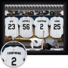 Chicago White Sox Framed Custom Jersey Print With Your Name