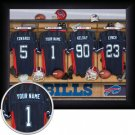 Buffalo Bills Framed Custom Jersey Print With Your Name