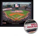 Atlanta Braves Stadium Print With Your Name