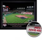 Washington Nationals Stadium Print With Your Name
