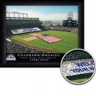 Colorado Rockies Stadium Print With Your Name