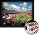 San Francisco 49ers Stadium Print With Your Name