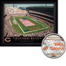 Chicago Bears Stadium Print With Your Name