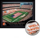 Cleveland Browns Stadium Print With Your Name
