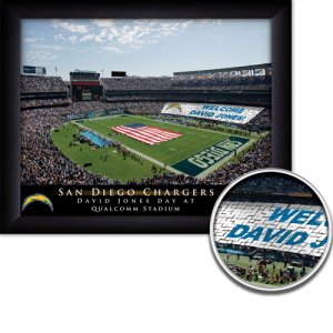 San Diego Chargers Stadium Print With Your Name