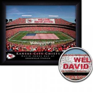 Kansas City Chiefs Stadium Print With Your Name