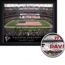 Atlanta Falcons Stadium Print With Your Name