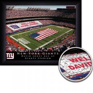 New York Giants Stadium Print With Your Name