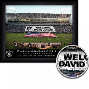 Oakland Raiders Stadium Print With Your Name