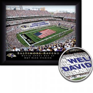 Baltimore Ravens Stadium Print With Your Name