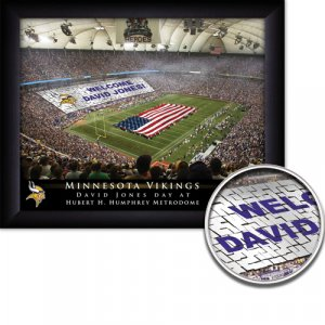 Minnesota Vikings Stadium Print With Your Name