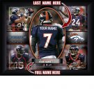 Custom Denver Broncos  Action Print Framed and Personalized