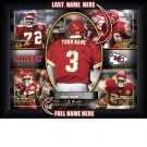 Custom Kansas City Chiefs  Action Print Framed and Personalized