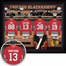 Chicago Blackhawks Framed Custom Jersey Print With Your Name