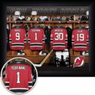 New Jersey Devils Framed Custom Jersey Print With Your Name