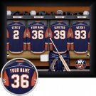 New York Islanders Framed Custom Jersey Print With Your Name