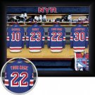 New York Rangers Framed Custom Jersey Print With Your Name