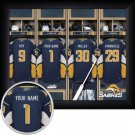 Buffalo Sabres Framed Custom Jersey Print With Your Name