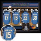 Atlanta Thrashers Framed Custom Jersey Print With Your Name