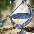 Cast Iron Arrow With Sun, Moon, and Stars Sundial