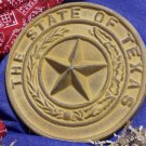 Cast Iron Texas State Seal Replica