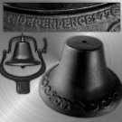 Black Cast Iron Farmer's Bell