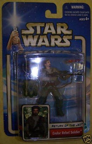 Star Wars Return of the Jedi Endor Rebel Soldier NEW