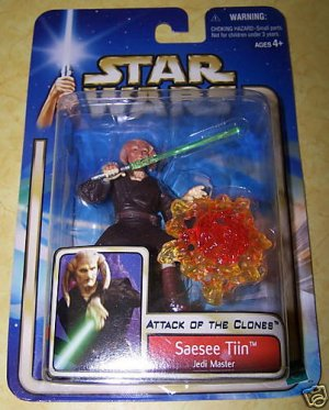 Star Wars Attack of the Clones Saesee Tiin - NEW
