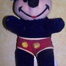 Vintage Walt Disney Mickey Mouse Stuffed Plush Doll