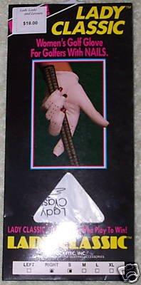 Lady Classic Women's Golf Glove RH XL- NEW