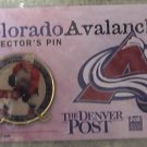 Peter Forsberg Colorado Avalanche Collector Pin - NEW