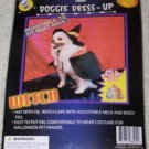 Doggie Dress-UP Witch Dog Cat Costume Halloween NEW