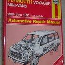 Haynes Caravan Voyager 1984-1991 Repair Manual