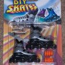 Finger Skates Inline Rollerblades Silver - NIP