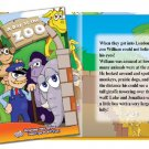 A Day at the Zoo Personalized Childrens books! Hardback! Laser Printed!