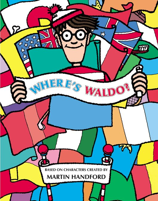 Personalized Where's Waldo Childrens Book