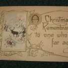 A Christmas Remembrance Postcard Lot  c9