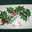 Raphael Tuck & Sons Holly Berries and Leaves lot c14