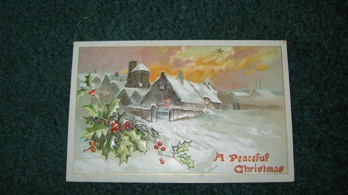 Raphael Tuck & Sons Christmas Snows Postcard Lot 15