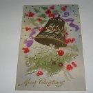 Merry Christmas embossed German postcard lot  c20
