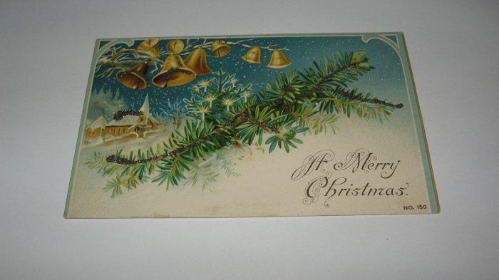 A Merry Christmas German Postcard lot c 22