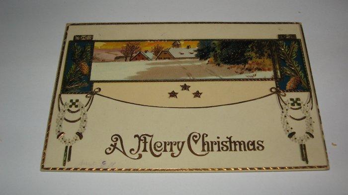 A Merry Christmas German Postcard Lot  c 24